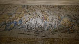 Mosaico interior Palacio de los Osuna